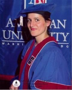 Graduation from American University
