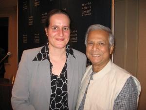 2008 with Muhammad Yunus